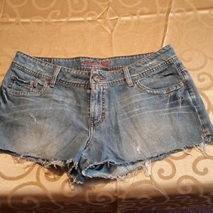 American Eagle size 12 distressed shorts